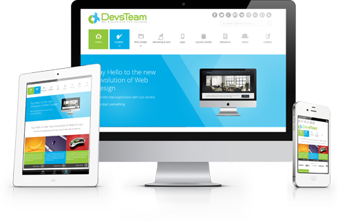 Responsive Web Design Service